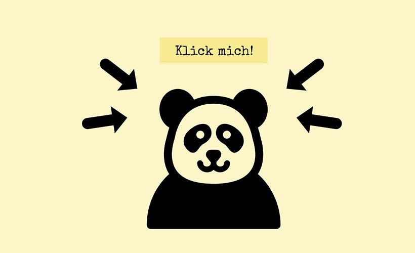 Clickbait funktioniert mit einem ansprechenden Bild und einer reißerischen Überschrift.